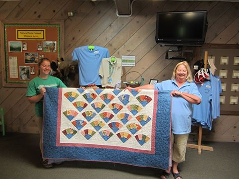 Winner or the 2016 Fundraiser Quilt - Grandma's Fan