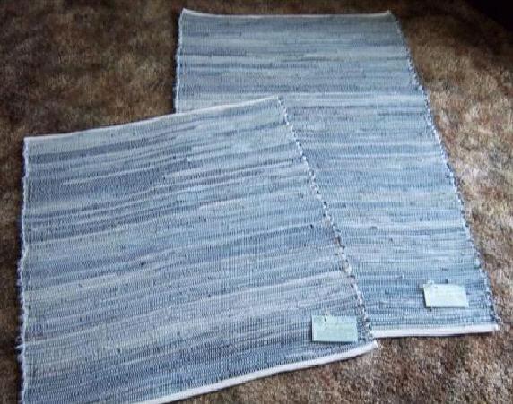 Rugs in denim